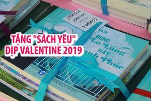 Xu hướng tặng 'sách yêu' dịp Valentine 2019