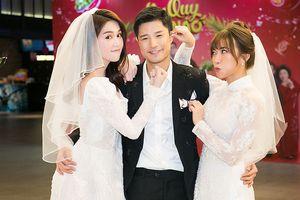 Ngọc Trinh rạng rỡ trong 'đám cưới' quy tụ dàn sao showbiz