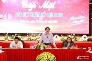 Bí thư Tỉnh ủy: Báo chí đã đồng hành chặt chẽ, tạo động lực cho sự phát triển của Nghệ An