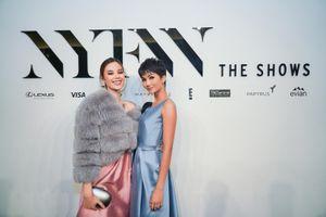 H'Hen Niê cùng đương kim Miss Universe đến New York Fashion Week