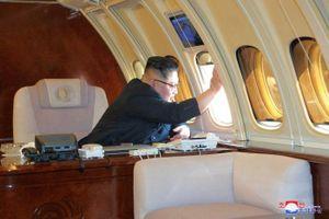 'Nội soi' chuyên cơ bí ẩn của Chủ tịch Triều Tiên Kim Jong-un