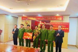 Thanh Hóa: Trao thưởng 330 triệu đồng cho 2 Ban chuyên án
