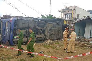 Tiết lộ nguyên nhân xe giường nằm tông sập nhà ở Nha Trang làm 38 người nhập viện