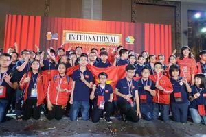 Đoàn học sinh Hà Nội đạt thành tích cao tại Cuộc thi Tìm kiếm Tài năng Toán học quốc tế 2019