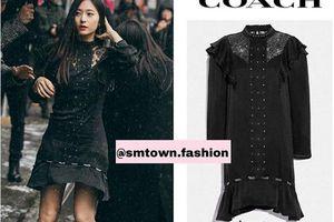 Krystal (Fx) sang chảnh đánh lẻ đến tuần lễ thời trang khiến fan mê mẩn