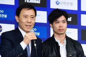 Công Phượng bảnh bao trong ngày ra mắt CLB Incheon United
