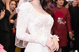 Ngọc Trinh và Diệu Nhi hóa thân thành cô dâu chẳng cần chú rể
