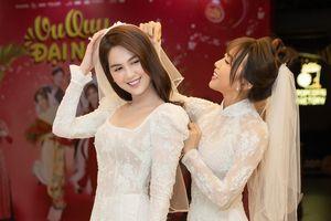 Diệu Nhi và Ngọc Trinh cùng làm 'cô dâu', khoe vẻ xinh đẹp rạng rỡ