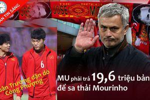 M.U phải chi tiền 'khủng' để sa thải Mourinho