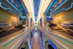 Cận cảnh bus giường nằm hạng thương gia lấy ý tưởng từ tàu vũ trụ