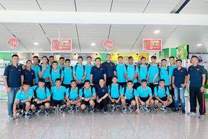 U22 Việt Nam lên đường tham dự Giải vô địch U22 Đông Nam Á