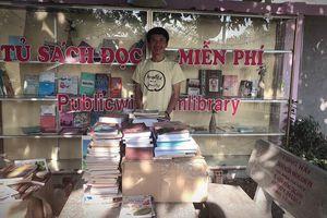 Khai trương tủ sách miễn phí tại Nam Cát Tiên
