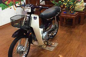 Cận cảnh Honda Dream Thái giá gần 300 triệu ở Hà Nội