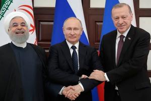 Tuyên bố chung giữa 'bộ ba' Astana lên án âm mưu gây tổn hại chủ quyền của Syria