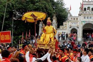 Lễ hội rước 'vua sống' độc nhất Hà Thành