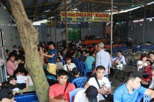 Phát hiện nhà hàng không đảm bảo vệ sinh an toàn thực phẩm tại lễ hội chùa Hương