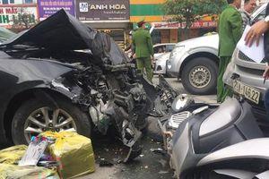 Đã tìm ra tài xế Mazda 3 gây tai nạn liên hoàn rồi bỏ trốn