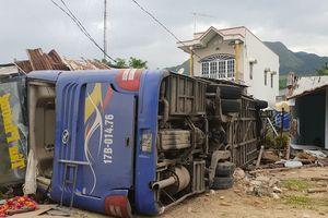 Phó Thủ tướng chỉ đạo điều tra nguyên nhân vụ lật xe tại Khánh Hòa
