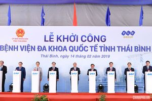 Khởi công bệnh viện hơn 3.700 tỷ đồng tại Thái Bình