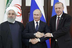 Nga, Thổ Nhĩ Kỳ và Iran thông qua tuyên bố chung về Syria