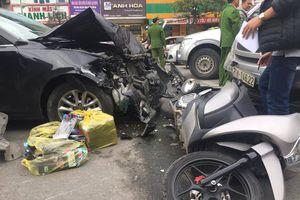 Xác định danh tính tài xế và nạn nhân vụ tai nạn liên hoàn đường Trường Chinh
