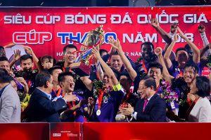 Đội hình hai giúp CLB Hà Nội nâng chiếc cúp vô địch đầu tiên mùa 2019