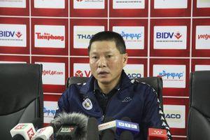 HLV Chu Đình Nghiêm chia sẻ mục tiêu của Hà Nội FC sau khi vô địch Siêu Cup