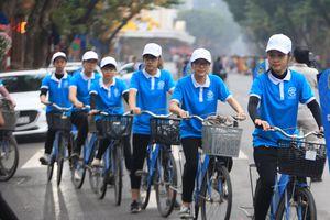 Diễu hành tuyên truyền xây dựng người Hà Nội thanh lịch văn minh