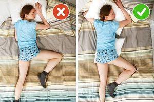 Bật mí cách hóa giải tư thế ngủ xấu thành tốt cho sức khỏe