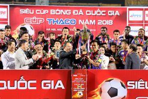 Vắng Quang Hải, CLB Hà Nội vẫn đoạt Siêu Cúp quốc gia 2018
