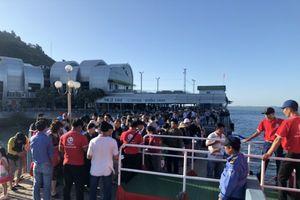 Tàu thủy cao tốc Vũng Tàu – Côn Đảo thu hút đông đảo du khách