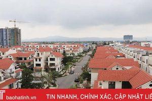 Hà Tĩnh đặt mục tiêu đến 2020, tổng diện tích nhà ở tăng thêm đạt hơn 2 triệu m2 sàn