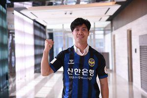 Công Phượng gửi lời chào từ Incheon, hứa cố gắng khi HLV khuyên nên tập luyện thật tốt