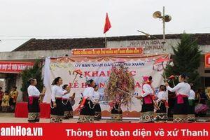 Từng bừng lễ hội Nàng Han ở xã Vạn Xuân