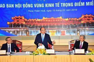 Thủ tướng yêu cầu các tỉnh thành Vùng Kinh tế trọng điểm miền Trung đổi mới tư duy và cách làm