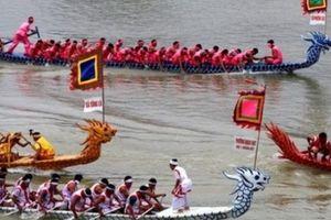 Khai mạc Lễ hội bơi chải thuyền rồng Hà Nội mở rộng 2019