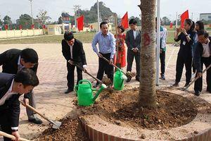 Tích cực trồng cây, tạo cảnh quan môi trường xanh - sạch - đẹp