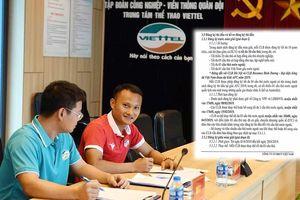 CLB Viettel bỏ tiền tỷ mua Trọng Hoàng về ngồi dự bị nửa mùa?