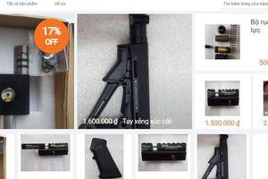 Lập lờ rao bán thiết bị súng trên Lazada: Ranh giới mong manh giữa buôn bán súng thật và súng đồ chơi