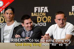Alex Ferguson trở lại dẫn dắt M.U, Ribery vẫn cay cú Ronaldo
