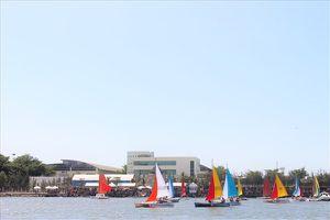 Hàng trăm thuyền buồm tranh tài trên vịnh Marina Vũng Tàu