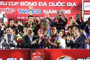Tham vọng lớn của Hà Nội FC sau Siêu Cúp
