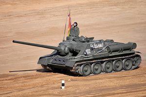 Lộ bản thiết kế tuyệt mật pháo tự hành diệt tăng Liên Xô 'chết yểu'