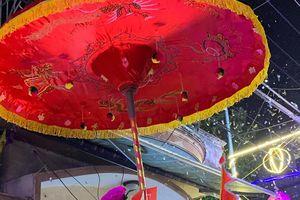 Lễ hội rước 'Ông Lợn' làng La Phù Hà Nội thu hút du khách