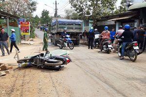 Đắk Lắk: Cố vượt ô tô trên đường hẹp, một người bị xe tải cán tử vong