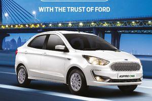 Ford ra mắt xe taxi giá rẻ Aspire CNG, giá chỉ 204 triệu đồng