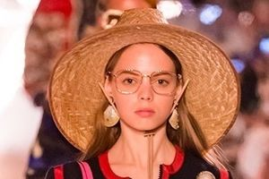 Gucci tung thiết kế mũ cói có giá 9 triệu đồng