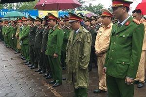 Tăng cường lực lượng bảo đảm an ninh Lễ Khai ấn đền Trần