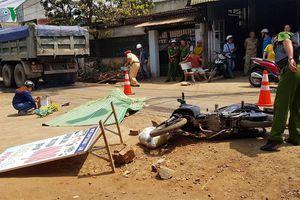 Đắk Lắk: Cố vượt xe tải, nam thanh niên bị cán tử vong