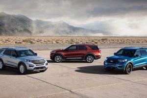 Ford Explorer đã có bản mới 2020, giá khởi điểm 33.860 USD